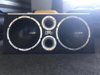 """Twin vibe 12"""" subs"""