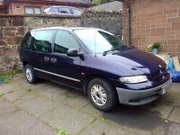 Chrysler Voyager SE 2.0l petrol 1997 Spares or Repair