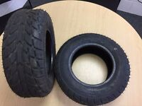 Quad Bike Tyres 19x6x10 As New