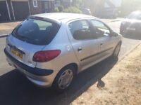 Peugeot 206 automatic ONLY 60500 miles
