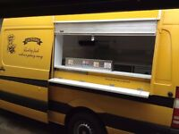 Burger catering van Snack bar not trailer Mercedes 311 LWB ..... Offers welcome