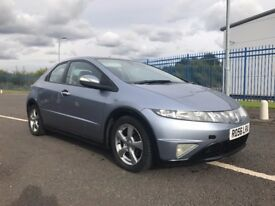 honda civic i-cdti 2.2 diesel long mot excellent condition must be seen 2006