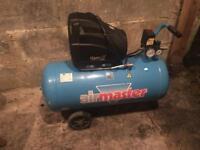 Air master air compressor with spray gun