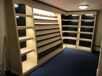 Shop display cabinets / units - used previously for jewellery.