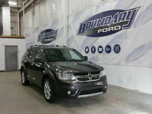 2015 Dodge Journey R/T W/ AWD, Sunroof, DVD, 7 Passenger,Leather
