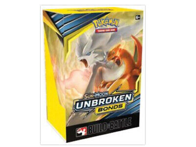Pokemon TCG Unbroken Bonds Build and Battle Box Prerelease Kit Sun Moon PRESALE