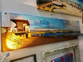 Boscombe Pier canvas. T180 pitch