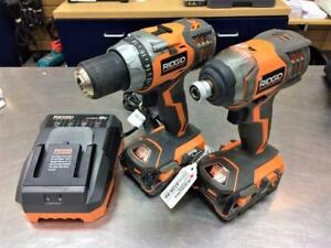 Combo Perceuse 1/2'' et impact 1/4'' hex RIDGID X4 18V ***Excellente Condition*** #F024246