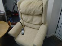 ELECTRIC RISE AND RECLINE ARMCHAIR at Haven Trust's charity shop at 247 Radford Road, NG7 5GU
