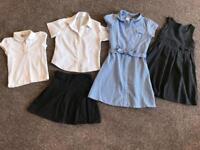 P1 girls school uniform