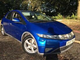 Honda Civic+ fsh+Panaramic roof+12 months mot