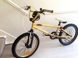 Beautiful Gold Wipe 500 BMX Bike -