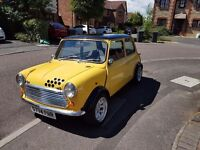 Classic Mini... with a 2L Astra engine.