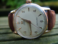 100% Genuine Vintage 1956 Omega Seamaster Rose Gold Automatic Swiss 32mm Watch YEAR WARRANTY