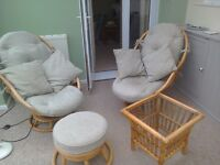 Conservatory Furniture Bent Cane