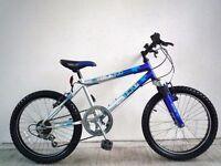 "(2184) 20"" 12"" SABRE HERO BOYS GIRLS MOUNTAIN HARDTAIL BIKE BICYCLE; Age: 7-10; Height: 123-143 cm"