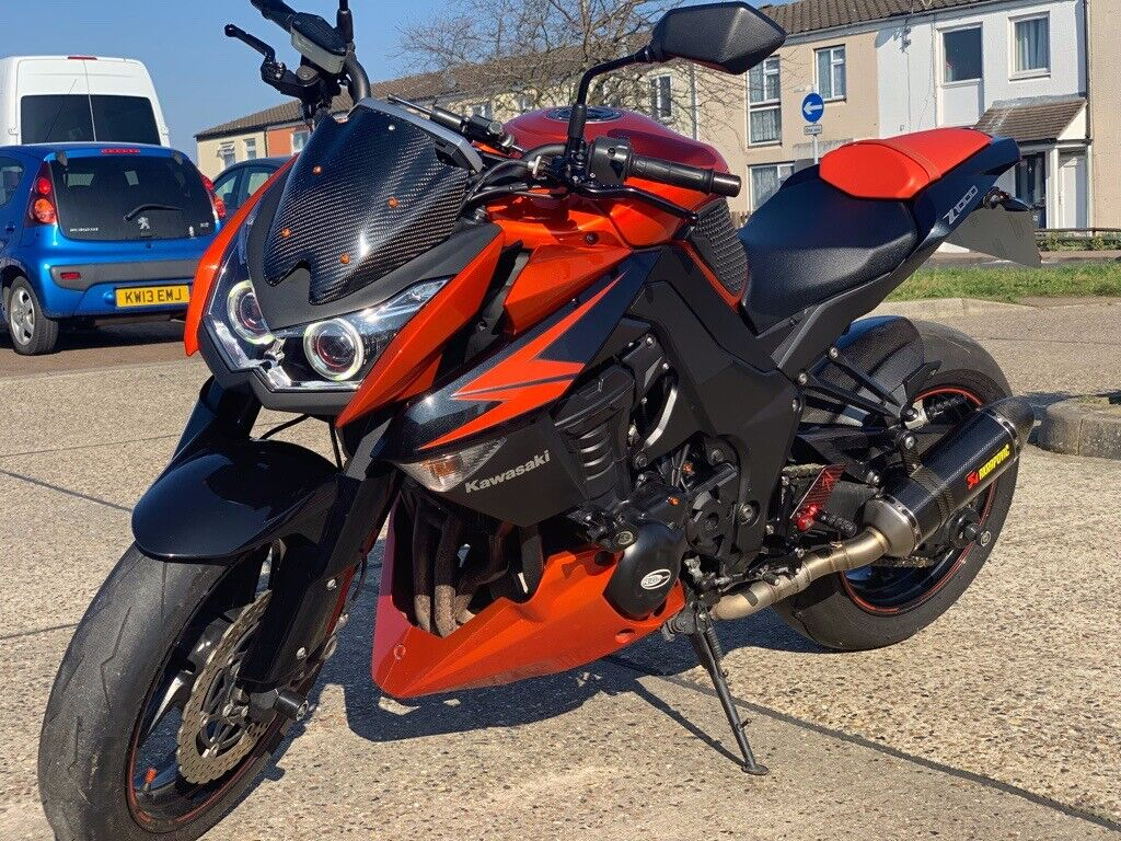 Used Kawasaki Z1000 Naked 1000 Abs in Newport, Gwent | W.C