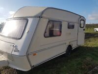 jubilee caravan tourer. needs attention and some work.