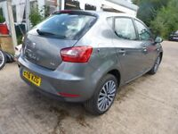 SEAT IBIZA - EY16WZG - DIRECT FROM INS CO