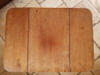 A 19th Century mahogany drop leaf Pembroke type work table