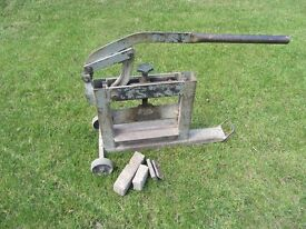 Block Paving Cutter - Used
