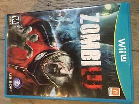 ZombiU game for WiiU