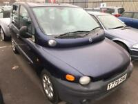 2001 Fiat Multipla Diesel. 6 Seat Estate Immaculate Mot. Cheap Tax Warranty