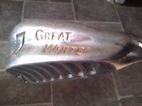 Great White 7 iron Apollo steel shaft Pat Simmons Tour Grip WILL POST Golf club