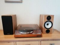 Monitor Audio BX2 Speakers in Beech