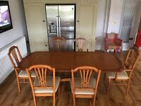 DINING TABLE FROM HUNTERS DERBY