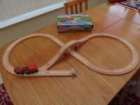 For Sale - Wooden Figure of Eight Train Set