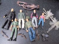 Primeval Tv show Figures excellent condition £3 each, will post