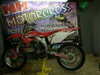 Honda crf450 2006 very clean bike Now sold sorry
