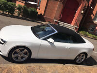 Audi A5 Convertible 2L TDI SPORT 177BHP WHITE Excellent Condition in & out with low mileage!