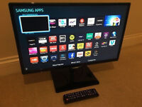 """SAMSUNG Smart 27"""" LED TV -1080p - Freeview - Warranty"""