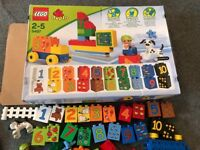 Lego Duplo - Play with numbers (5497) - complete set