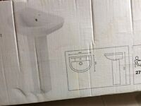 SOLD- Shower enclosure Toilet and Hand Basin