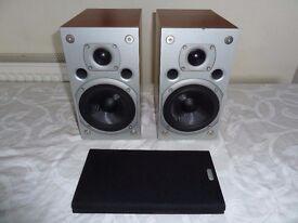 Arcam Alto High End Book Shelf/Stand Mount Speakers - Fantastic Sound