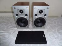 Arcam Alto High End Book Shelf/Stand Mount Speakers - Fantastic Sound