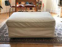 IKEA footstool with storage