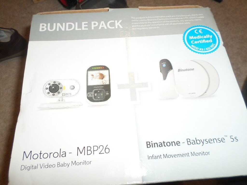 Baby video monitor plus movement monitor