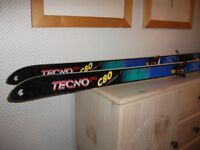 Ladies skis, boots & poles - size 5 boots, 165cm skis