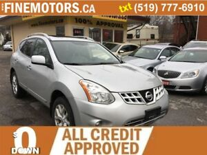 "2013 Nissan Rogue SV *17"" Aluminum Rims */GPS/SET OF WINTER TIRE"