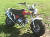 Skteam T-Rex 50cc moped, Suzuki RV50 copy, Monkey Bike, sand bike