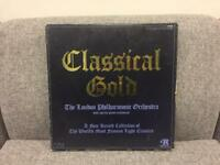 CLASSICAL GOLD - London Philharmonic Orchestra 4x Vinyl LP BOXSET SDHC