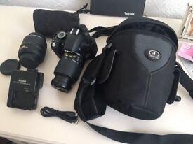 Nikon D3100 and Manfrotto Tripod
