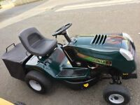Hayter 13/30 collecting Lawn Tractor