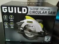 Brand new Guild circular saw 1400w