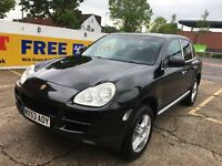 2003 Porsche Cayenne 4.5 S Tiptronic S AWD 5dr BLACK HPI CLEAR