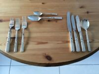 Sheffield stainless steel 'Community' cutlery.